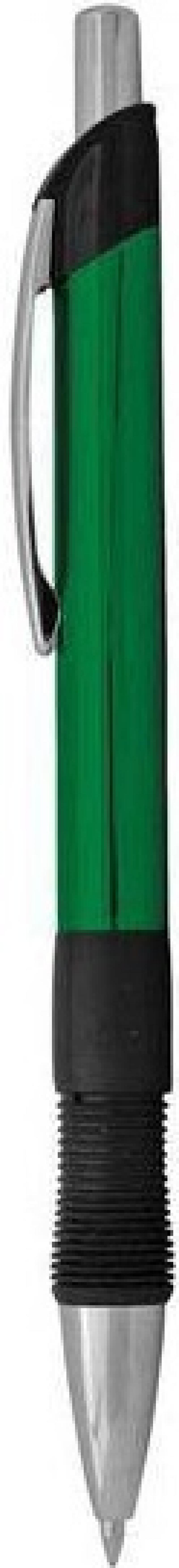 Шариковая ручка автоматическая Index IMWT1132/GN/бшк синий 0.5 мм IMWT1132/GN/бшк
