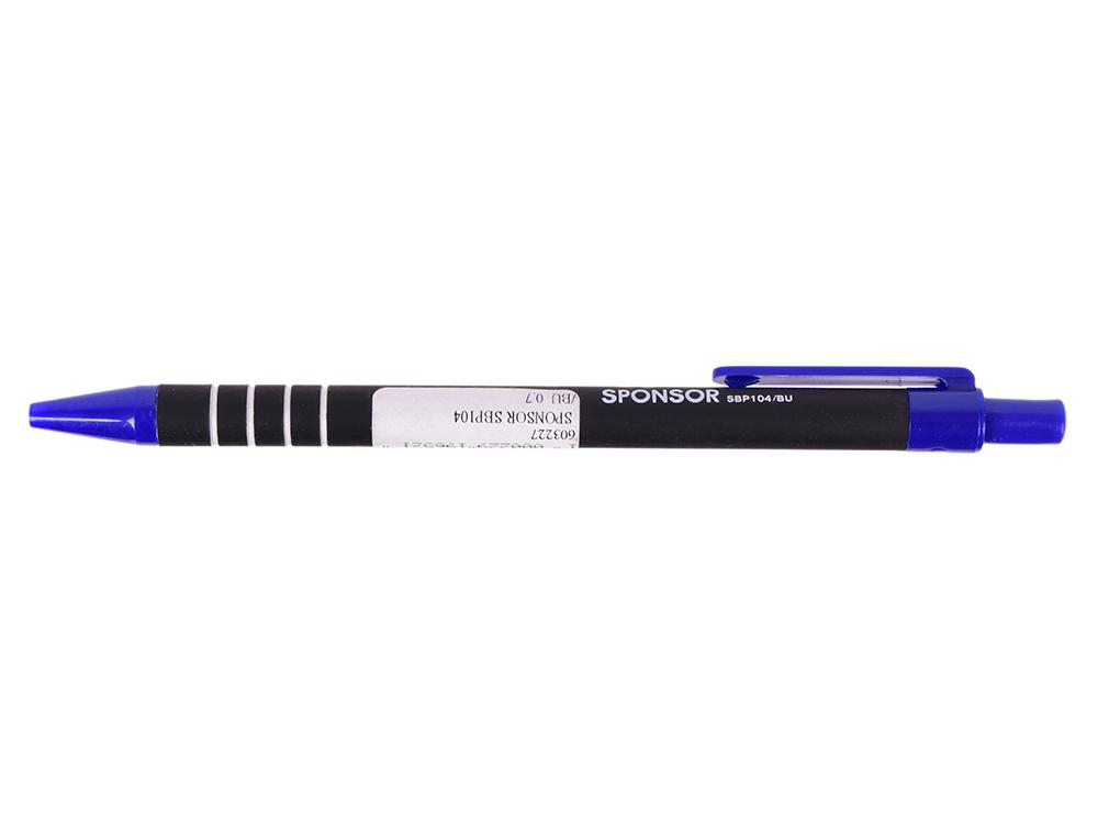 Шариковая ручка автоматическая SPONSOR SBP104/BU синий 0.7 мм SBP104/BU шариковая ручка автоматическая sponsor slp005a bu синий 0 7 мм slp005a bu