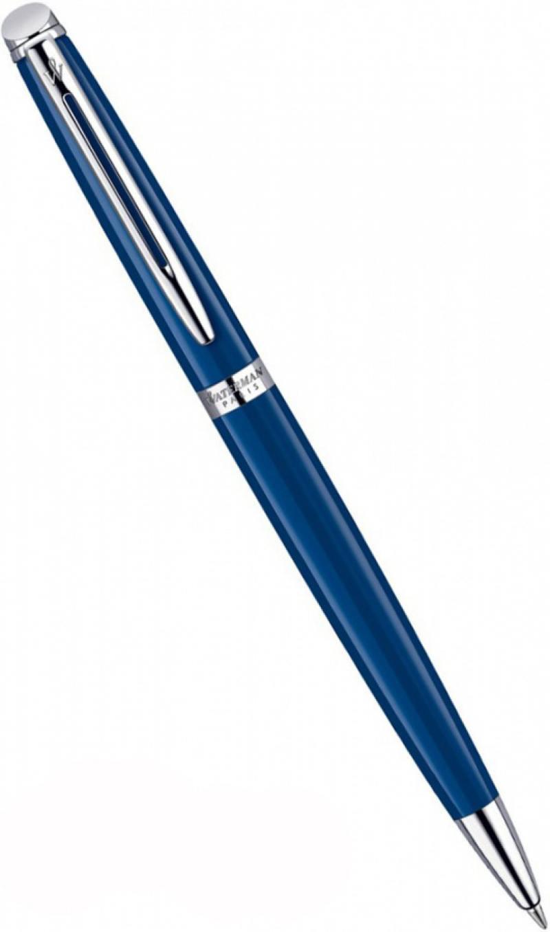 Шариковая ручка поворотная Waterman HEMISPHERE Blue CT синий WAT-1904603 WAT-1904603 aifeect 5 pcs nylon cable winder cable wire organizer cable wire management protetor ties wrapped cord line reusable wire winder