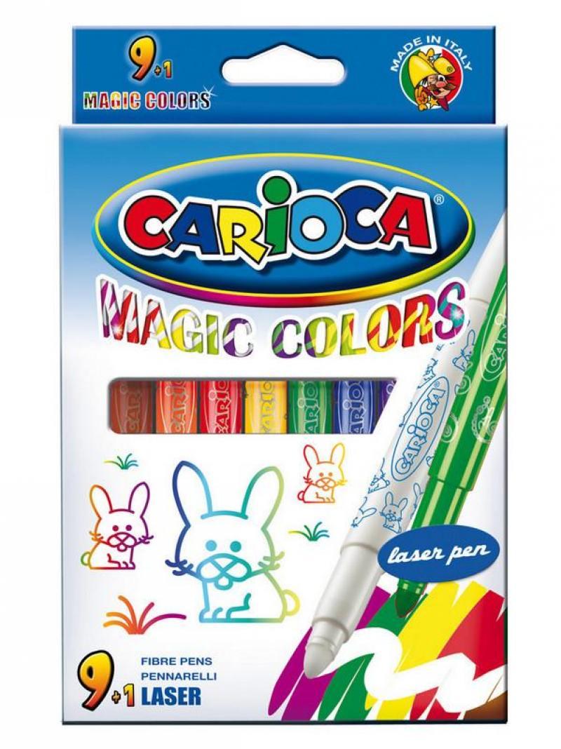 цена на Набор фломастеров Universal CARIOCA ERASABLE 2 мм 10 шт разноцветный 41238/10 41238/10