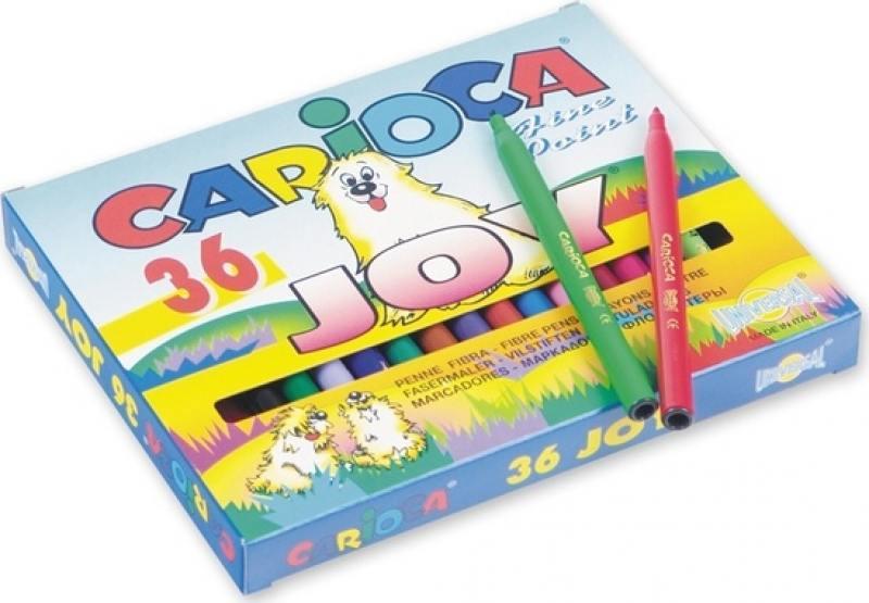 Фото Набор фломастеров Universal Carioca JOY 36 шт разноцветный 40616/36 40616/36