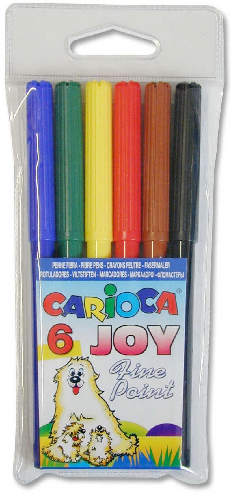 Набор фломастеров Universal CARIOCA JOY 2 мм 6 шт разноцветный 40549/6 40549/6