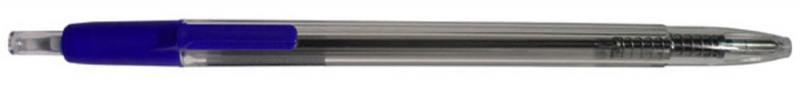 Ручка шариковая Urbanistik, автоматическая, прозрачный пластиковый корпус, цветные детали, 0,8 мм, с