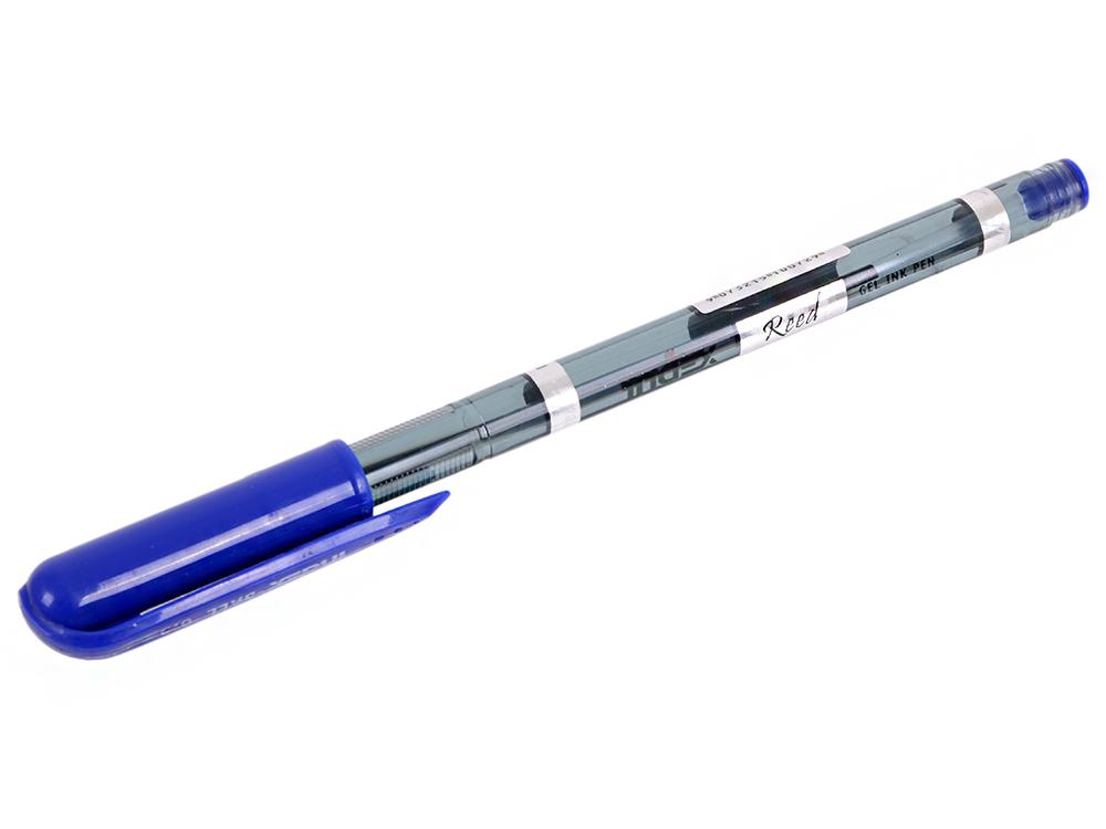 Ручка шариковая SLENDER, пластиковый тонированный корпус, рифленый грип, цветной колпачок, 0,5 мм, с