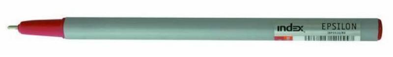 Шариковая ручка Index EPSILON красный 1 мм IBP3510/RD шариковая ручка index epsilon черный 1 мм ibp3510 bk