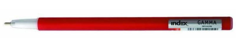 Шариковая ручка Index Gamma красный 1 мм IBP349/RD