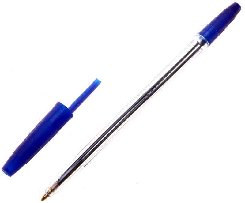 Шариковая ручка СТАММ Оптима синий 1 мм РО01 РО01 шариковая ручка стамм 511 синий 0 7 мм рк25 рк25