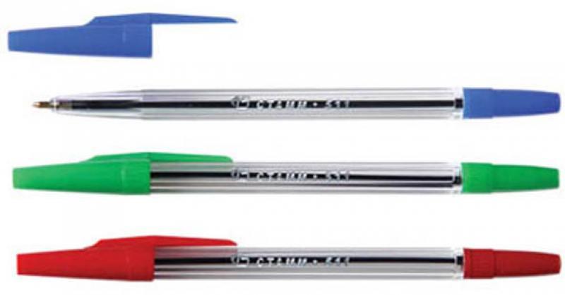 Набор шариковых ручек СТАММ РК06 3 шт разноцветный 1 мм РК06 набор шариковых ручек стамм рк06 3 шт разноцветный 1 мм рк06