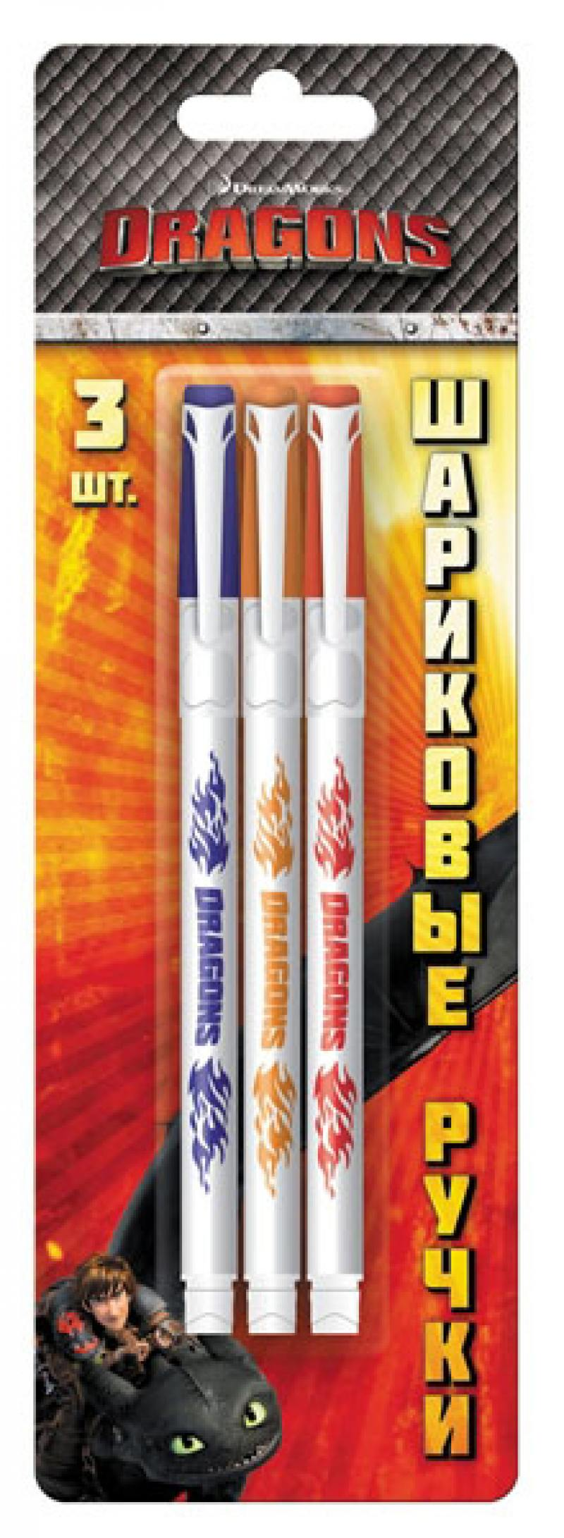 Набор шариковых ручек Action! Dragons 3 шт DR-ABP151/3 DR-ABP151/3 [sumger2] mean well original dr 100 15 15v 6 5a meanwell dr 100 15v 97 5w single output industrial din rail power supply