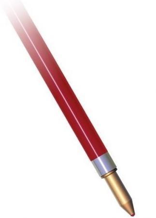 Стержень для шариковой ручки CORVINA, красный, 152 мм schwan stabilo шариковой ручкой писать музыку 308fbl5 пять загружены красный зеленый и сине фиолетовый