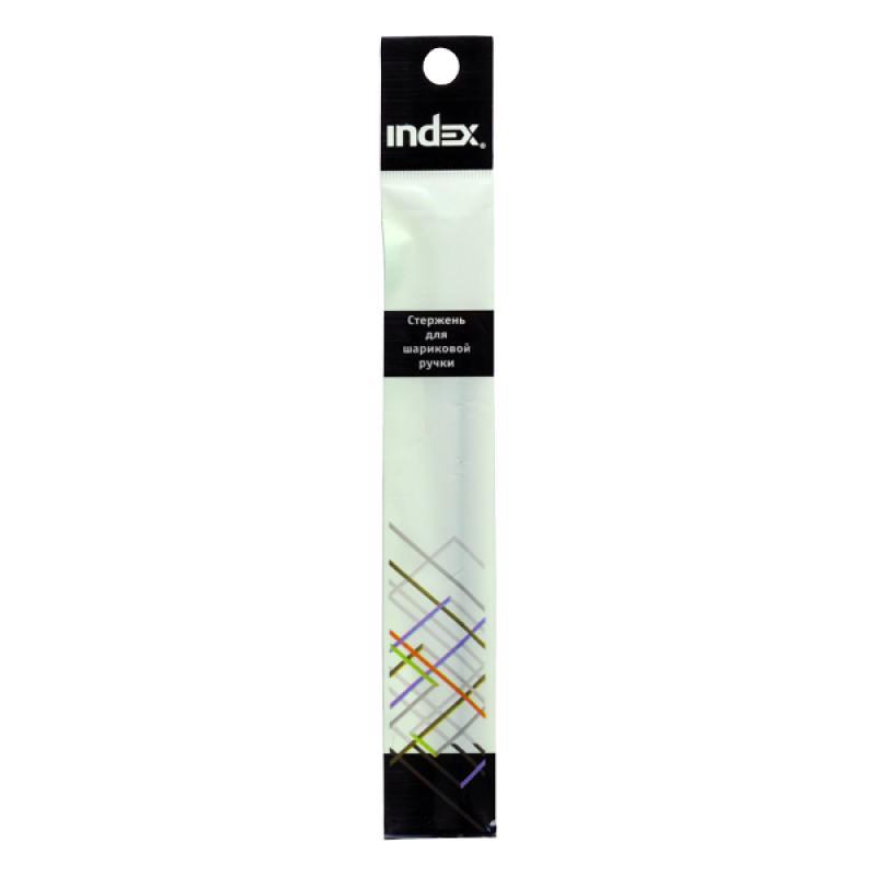 Стержень для шариковой ручки IBP301, 311, 303, 304; длина 140 мм, 0,5 мм, красный IBR01/RD