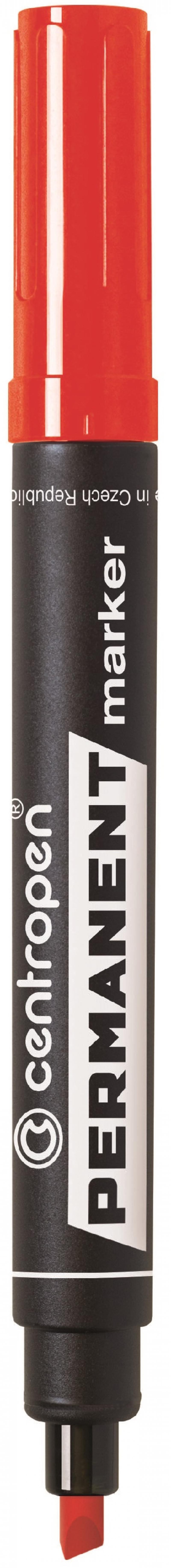 Маркер перманентный Centropen 8576/К 4.6 мм красный 8576/К маркер для доски centropen 8569 1ч 4 6 мм черный