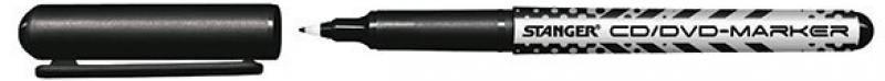 Маркер перманентный Stanger 710001 0.5 мм черный