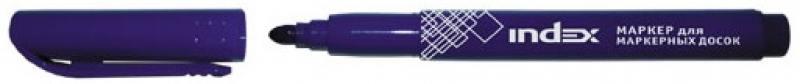 Маркер для доски Index IMW530/BU 4 мм синий маркер для доски centropen 8569 1ч 4 6 мм черный
