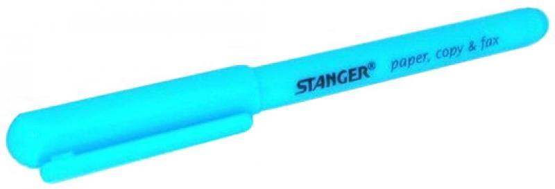Текстмаркер Stanger 1 мм — голубой 18-00-59 ножницы stanger 34103 12 5 см