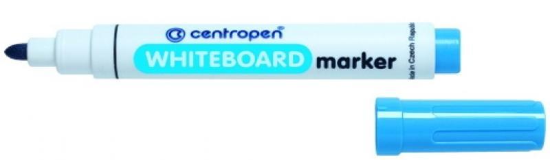 Маркер для доски Centropen 8559/1С 2.5 мм синий 8559/1С аудиокниги 1с паблишинг 1с аудиокниги живой город прогулка по тверской digipack