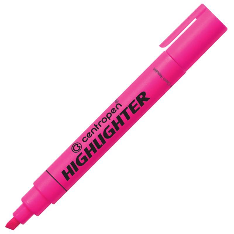 Маркер флуоресцентный Centropen 8852/1Р розовый 8852/1Р маркер флуоресцентный centropen 8852 1к красный 8852 1к