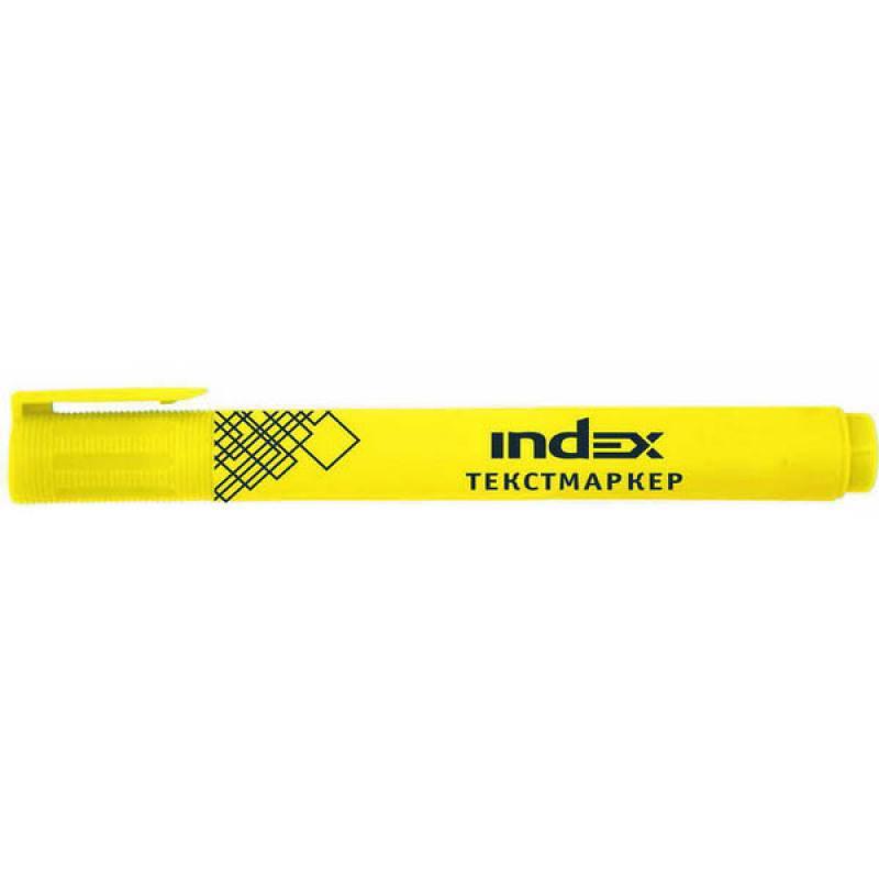 Текстмаркер Index IMH510/YL желтый atem streza versus желтый yl 10x10