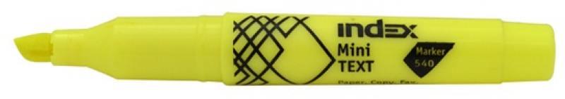 Текстмаркер Index МИНИ 1 мм желтый IMH540/YL IMH540/YL atem streza versus желтый yl 10x10