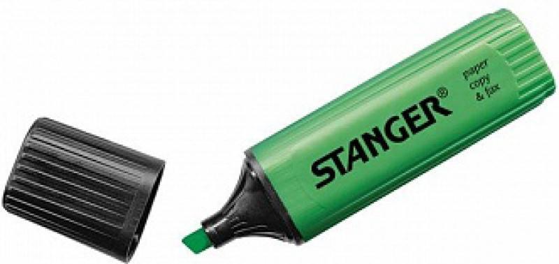 Текстмаркер Stanger 2000-06-18 1 мм зеленый термоконтейнер арктика 2000 30 л зеленый