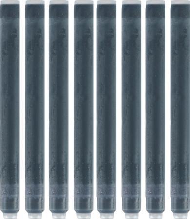 52001 Картридж с чернилами для перьевой ручки LONG, цвет черный, 8 шт. в картонной упаковке ручки waterman s0952360