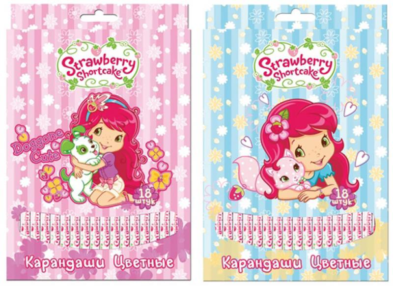 Набор цветных карандашей Action! Strawberry Shortcake 18 шт SW-ACP205-18 SW-ACP205-18 limit switches limit sw