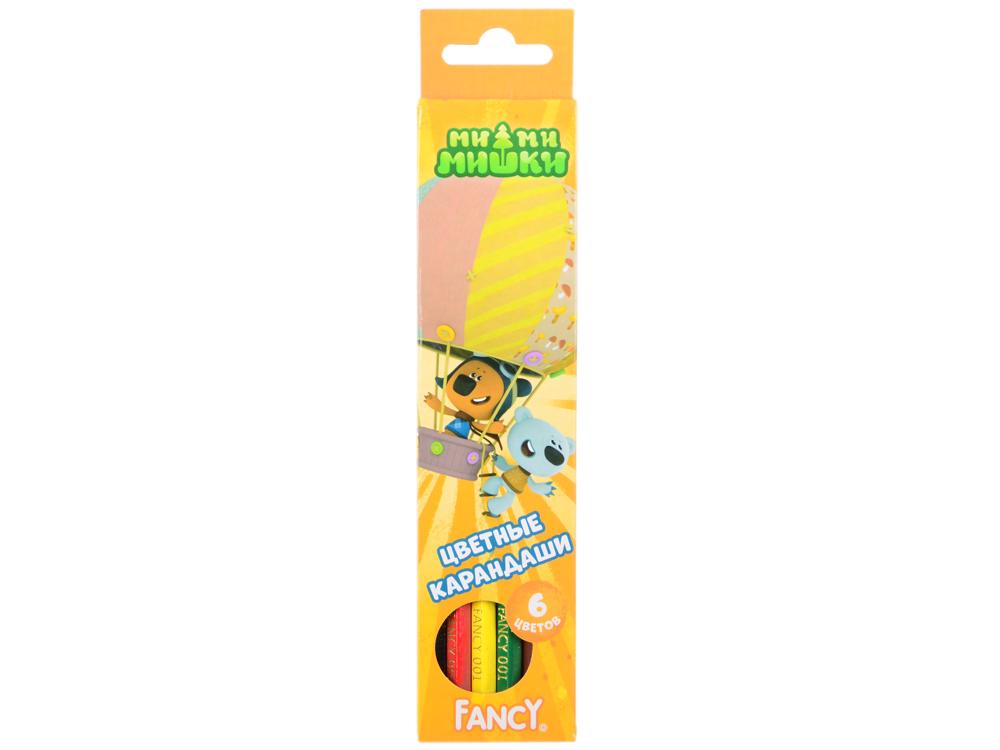 Набор цветных карандашей Action! Fancy 6 шт FCP001-06 FCP001-06 набор свечей тигренок с подсолнухом 9х6 см 6 шт