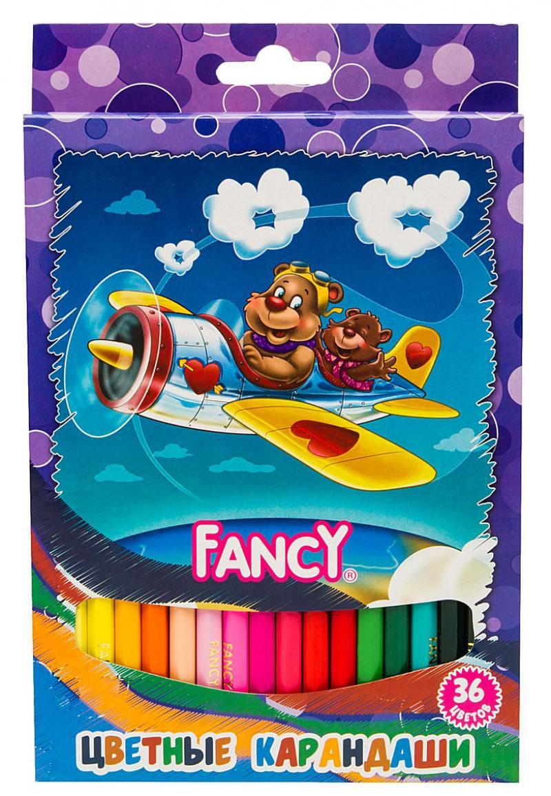 Набор цветных карандашей Action! Fancy 36 шт FCP001-36 FCP001-36 набор цветных карандашей action fancy 36 шт fcp101 36 fcp101 36