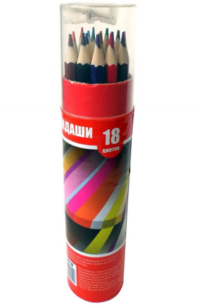 Набор цветных карандашей Action! ACP103-18 18 шт ACP103-18 hcdiva t1b 99j 18 18 18 18