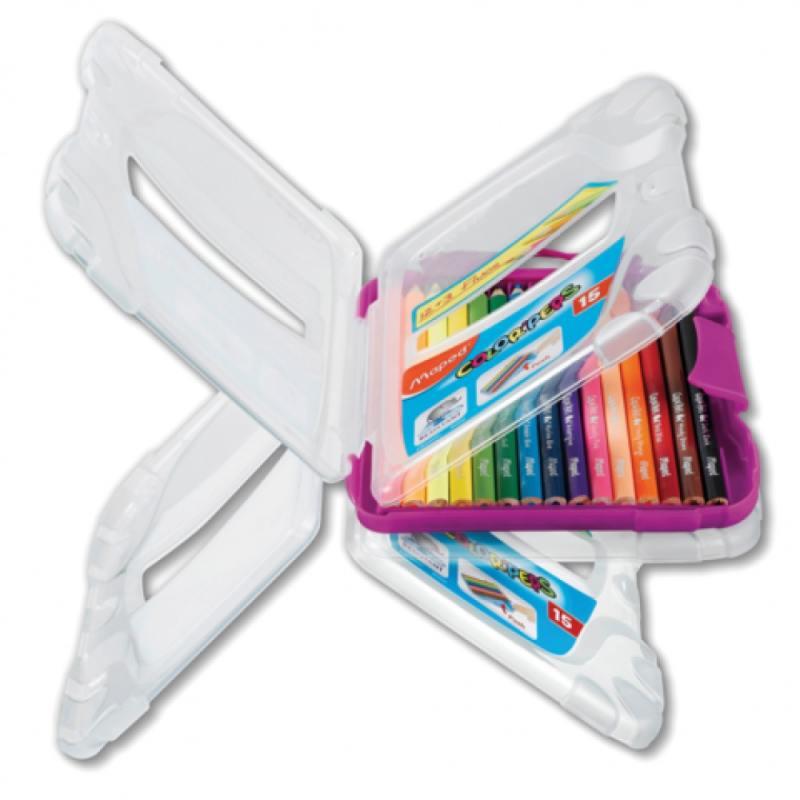 Набор цветных карандашей Maped Color Peps 12 шт 17.5 см 832032 карандаши цветные maped color peps в металлическом футляре 12 цветов
