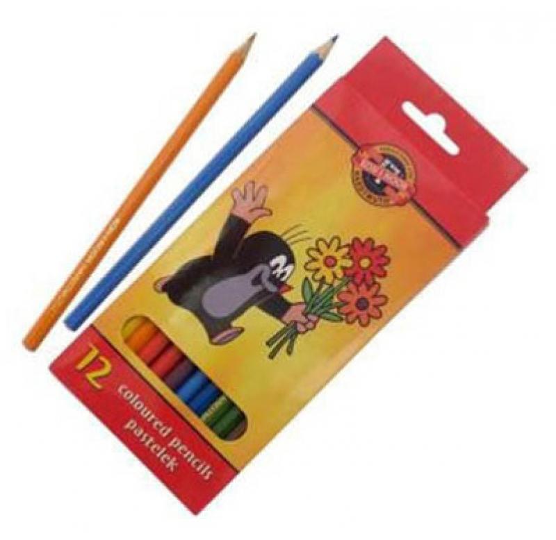 Набор цветных карандашей Koh-i-Noor Крот 12 шт 3652/12 26KS 3652/12 26KS набор цветных карандашей koh i noor 7 чудес света 12 шт 3652 12 27ks