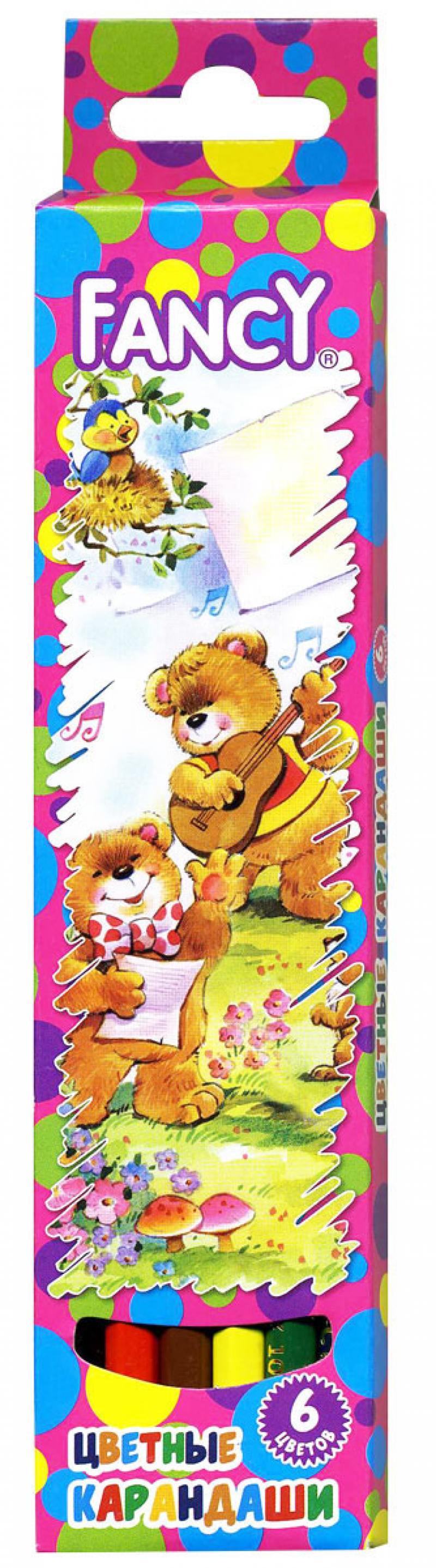 Набор цветных карандашей Action! Fancy 6 шт FCP103-06 action набор цветных карандашей 6 цветов