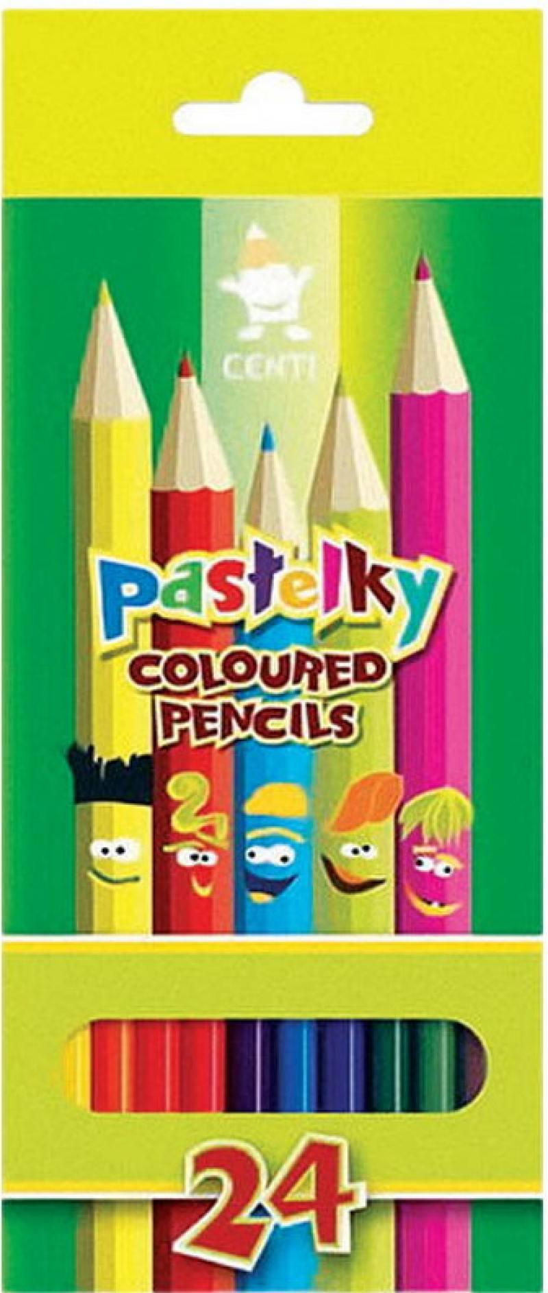Набор цветных карандашей Koh-i-Noor 2144/24 24 шт 17.5 см 2144/24 набор цветных карандашей silwerhof 134206 24 народная коллекция 24 шт