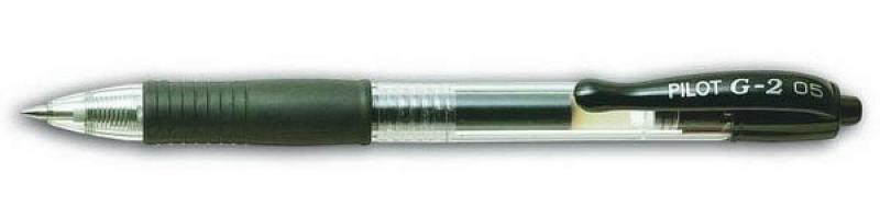 Гелевая ручка автоматическая Pilot G2-5 черный 0.5 мм BL-G2-5-B BL-G2-5-B гелевая ручка автоматическая pilot g2 5 красный 0 5 мм bl g2 5 r