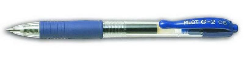 Гелевая ручка автоматическая Pilot G2-5 синий 0.5 мм BL-G2-5-L BL-G2-5-L счетчик газа сгд 2 5 g2 5