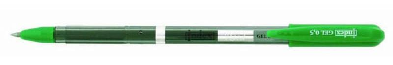 Гелевая ручка Index Reed зеленый 0.5 мм IGP111/GN IGP111/GN
