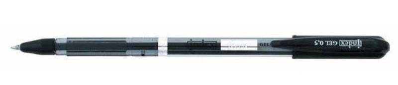 Гелевая ручка Index Reed черный 0.5 мм IGP111/BK IGP111/BK