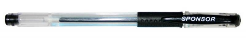 Гелевая ручка SPONSOR SGP02/BK черный 0.5 мм SGP02/BK электронная книга bookeen cybook muse черный cybme1s bk