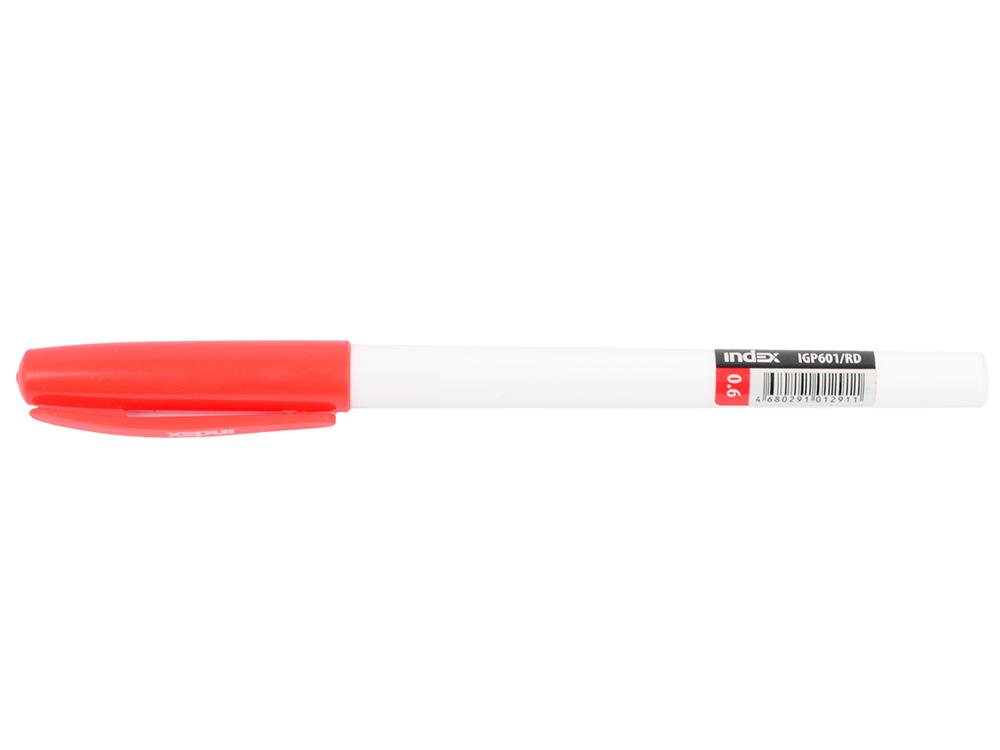 Гелевая ручка Index IGP601/RD красный 0.6 мм