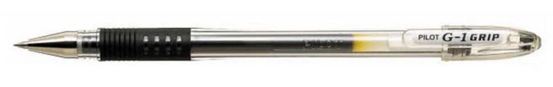 Гелевая ручка Pilot G-1 Grip черный 0.5 мм BLGP-G1-5-B набор гелевых ручек pilot g 1 синий 0 5 мм 2 шт в блистере b bl g1 5t l l
