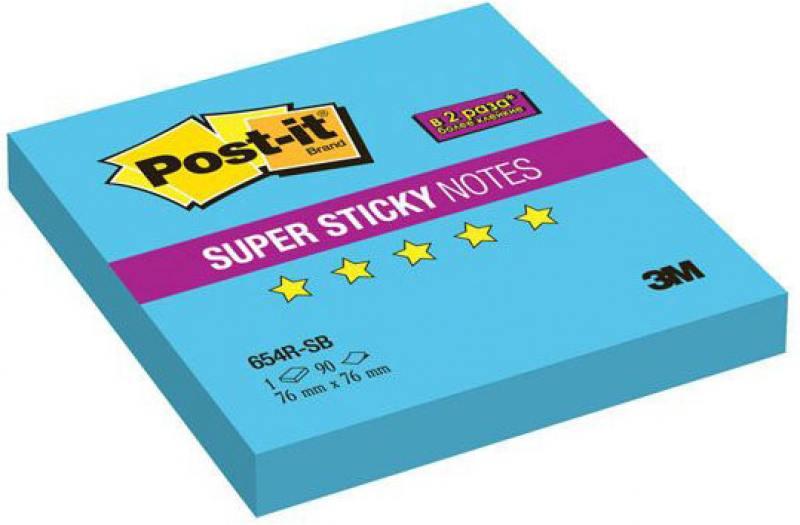 Бумага с липким слоем 3M 90 листов 76x76 мм голубой 654R-SB блокноты канц эксмо офисный стиль яркий цвет тетради с твердой обложкой 7бц на евроспирали 80л page 8