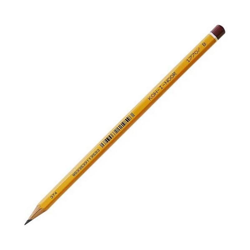 Карандаш графитовый Koh-i-Noor BLACK SUN 1770/B карандаш чернографитный koh i noor black sun 1770 h лакированный корпус 1770 h