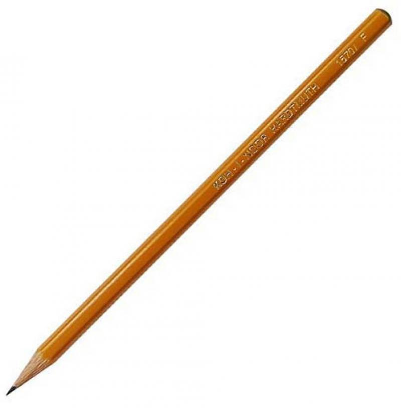 Карандаш чернографитный Koh-i-Noor 1570 F 1570 F карандаш чернографитный koh i noor 1500 f 17 5 см