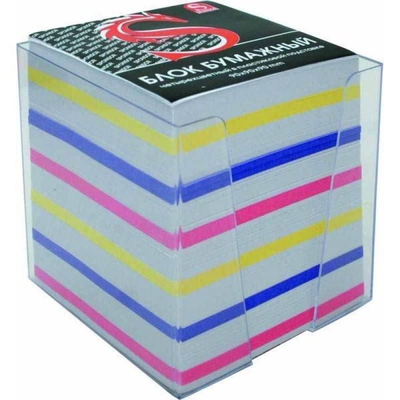 Блок бумажный SPONSOR 90х90 мм многоцветный SPC9903 системный блок