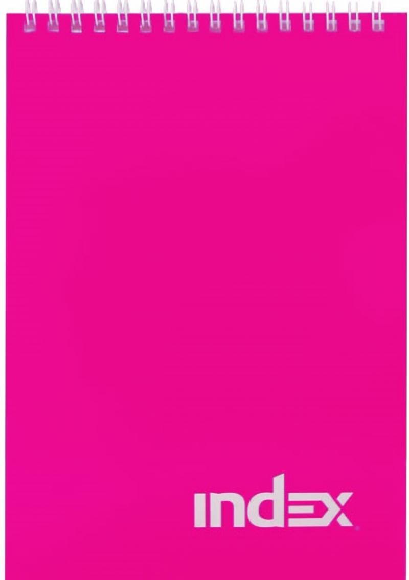 Блокнот Index Colourplay A5 40 листов INLcp-5/40p INLcp-5/40p блокнот dinosaurs a5 40 листов кремовая бумага 402783