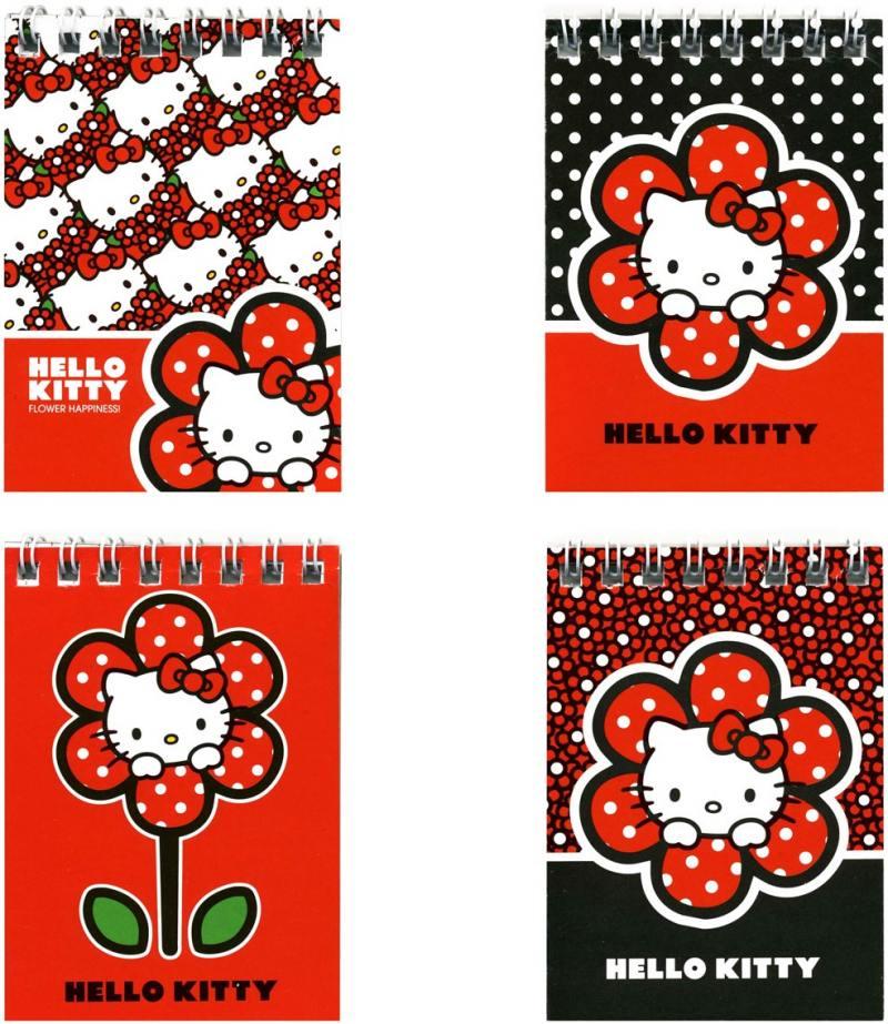 Блокнот Action! HELLO KITTY A7 40 листов HKO-ANU-7/40 в ассортименте HKO-ANU-7/40 блокнот action strawberry shortcake a7 40 листов в ассортименте sw anu 7 40
