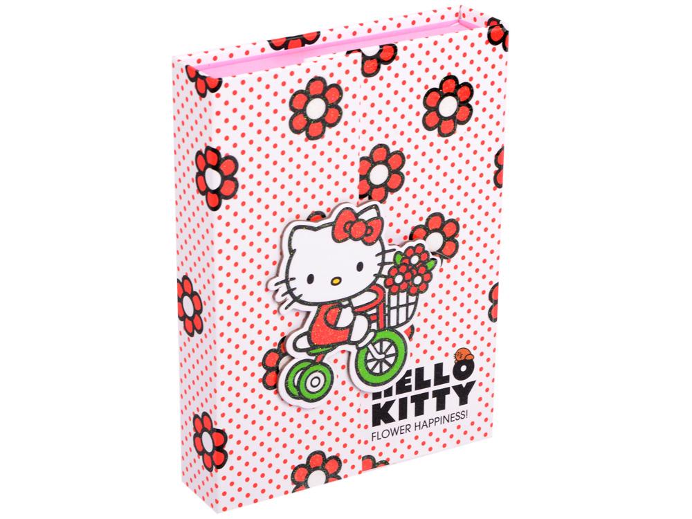 Блокнот Action! Hello Kitty A5 80 листов HKO-FN64/4114 блокнот dinosaurs a5 40 листов кремовая бумага 402783