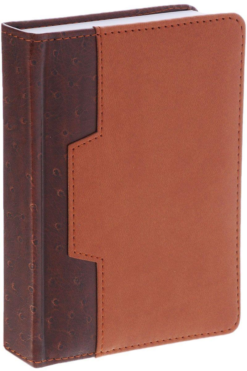 Ежедневник недатированный Index Desert A6 искусственная кожа IDN105/A6/BR еженедельник датированный index desert a6 искусственная кожа iwd0516 a6 br