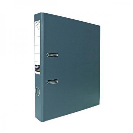 Папка-регистратор с покрытием PVC, 50 мм, А4, серая IND 5/30 PVC СЕР lacywear dg 5 ind