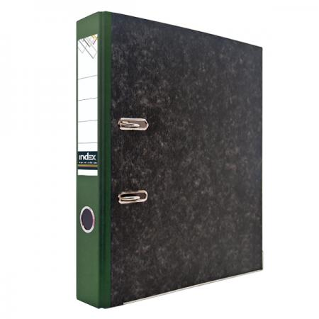 Папка-регистратор под мрамор, 50 мм, А4, корешок зеленый IND 5 BH ЗЕЛ/50 lacywear dg 5 ind